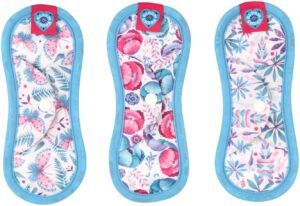 BLOOM & NORA Reusable Washable Menstrual Cloth Sanitary Pads Towels
